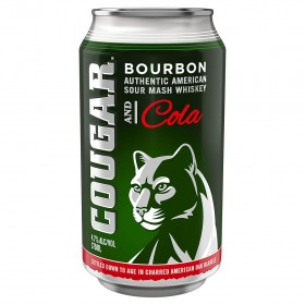 Cougar Cola Can