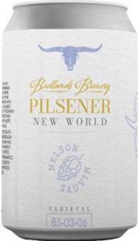 Badlands New World Pilsner