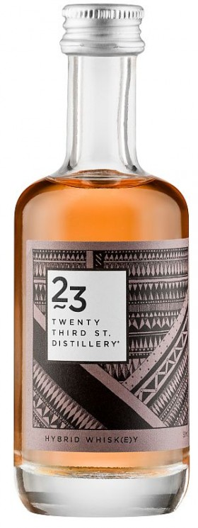 23rd St Hybrid Whisky Miniature 50ml