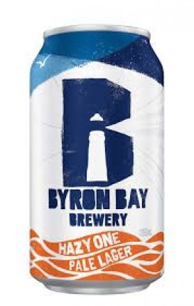 Byron Bay Brewery Hazy One Cans Pale Lager