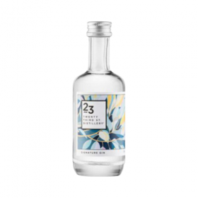 23rd St Distillery Gin Miniature 50ml