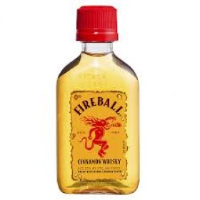 Fireball Cinamon Whiskey Miniature 50ml