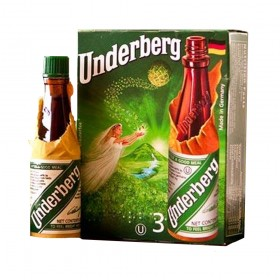 Underberg -  3 Pack Of Bitters 20ml