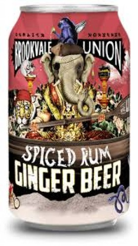 Brookvale Union Spiced Ginger Beer Can