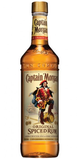 Captain Morgan-spiced Rum