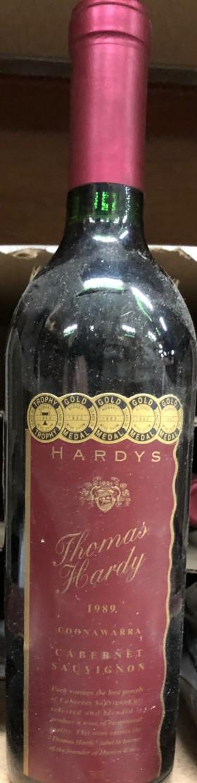 Hardy - Thomas Cabernet 1989