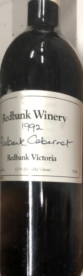 Redbank - Cabernet 1992