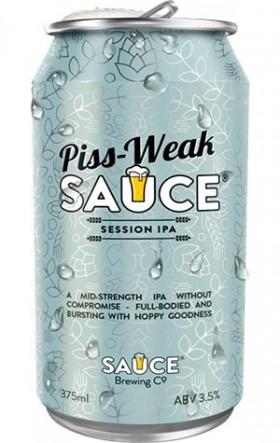 Sauce Piss Weak Session Ale 375ml