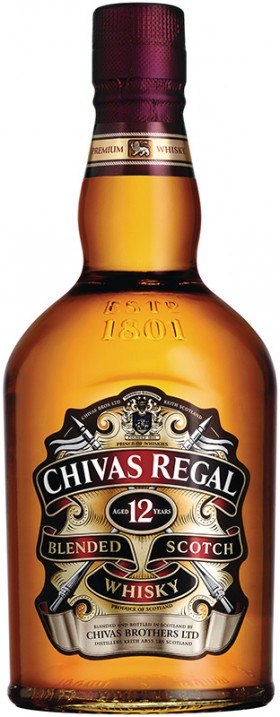 Chivas Regal Whisky 12 Year Old