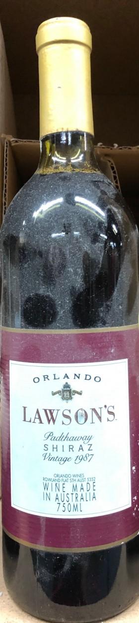 Orlando - Lawson Shiraz 1987