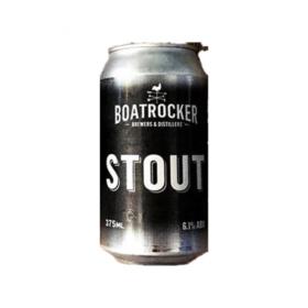 Boatrocker Stout Cans 375ml