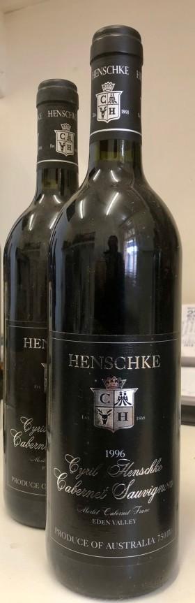 Henschke - Cyril Cabernet 1996