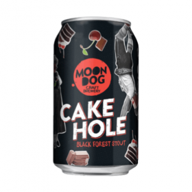 Moon Dog - Cake Hole Black Forest Stout Cans