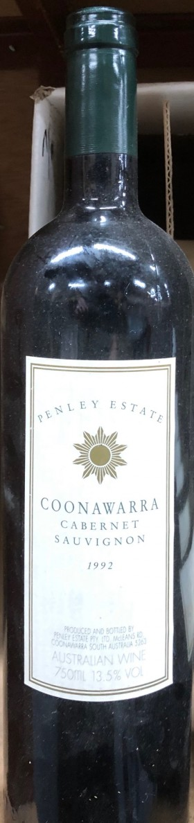 Penley Estate - Cabernet 1992