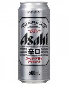 Asahi - Super Dry Cans