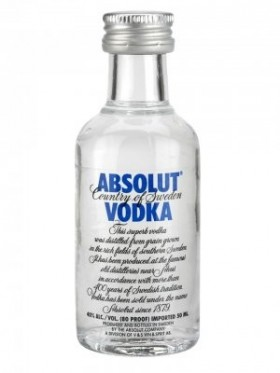 Absolut-vodka 50ml