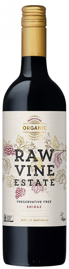 Raw Vine Estate - Shiraz Organic