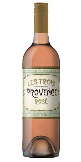 Les Trois - Provence Rose