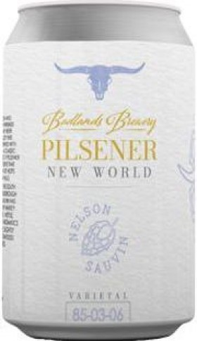 Badlands New World Pilsner