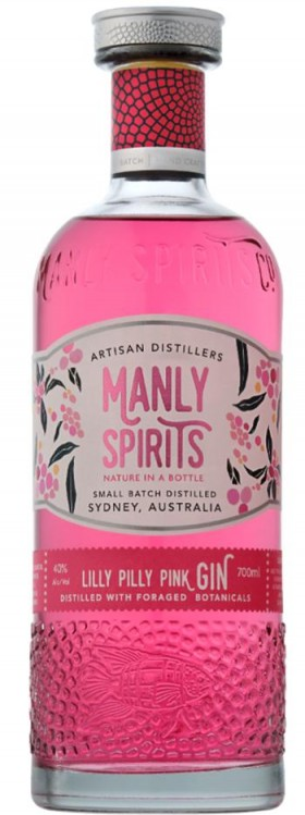 Manly Lilly Pilly Pink Gin