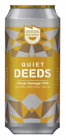 Quiet Deeds Fiscal Damage Tipa 50g/l Hops