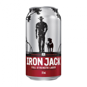 Iron Jack Full Strength Lager Cans