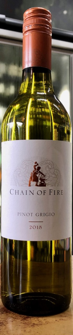 Chain Of Fire Pinot Grigio