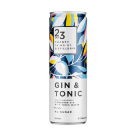 23rd St Gin and Tonic Cans No Sugar