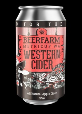 Western Cider Cans 375ml