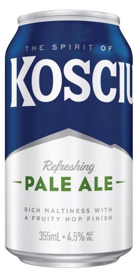 Kosciuszko Pale Ale Cans