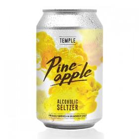 Temple Pineapple Alcoholic Seltzer