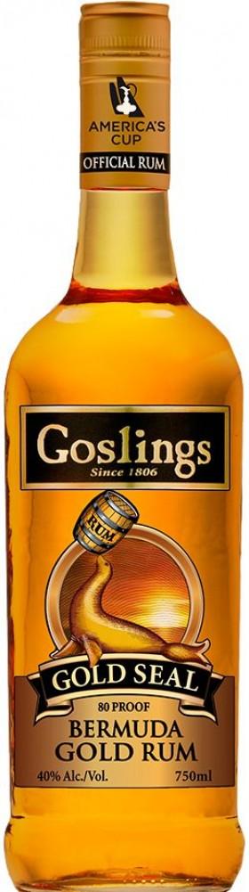Goslings Gold - Seal Gold Rum