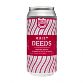 Quiet Deeds Milkbar Series Strawberry With Vanil
