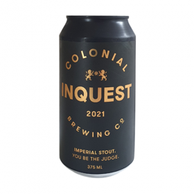 Colonial Inquest Imperial Stout 2021 Release