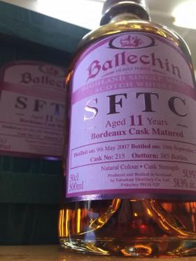 Ballechin - Sftc Bordeaux Cask 11yo 55.7%