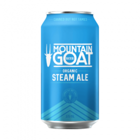 Mountain Goat Steam Organic Cans