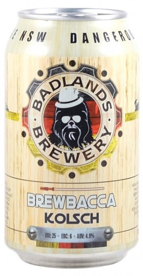Badlands - Brewbacca Kolsch Can