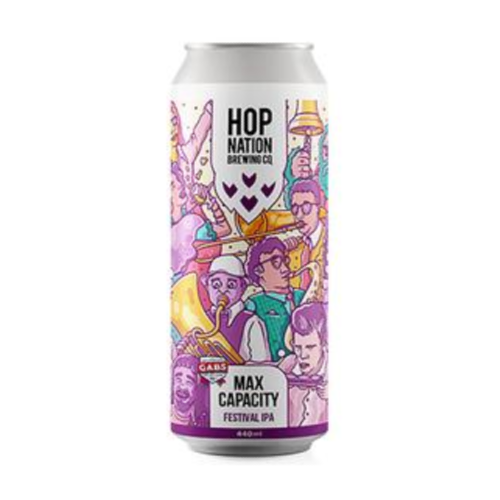 Hop Nation Max Capacity Hazy Ipa